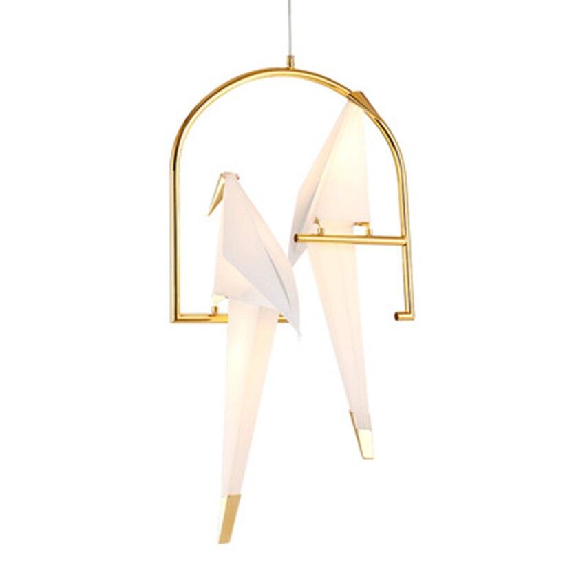 LED moderne mille papier grue suspension lumières éclairage nordique pastorale intérieur déco Loft suspension lampe salon luminaires - 6
