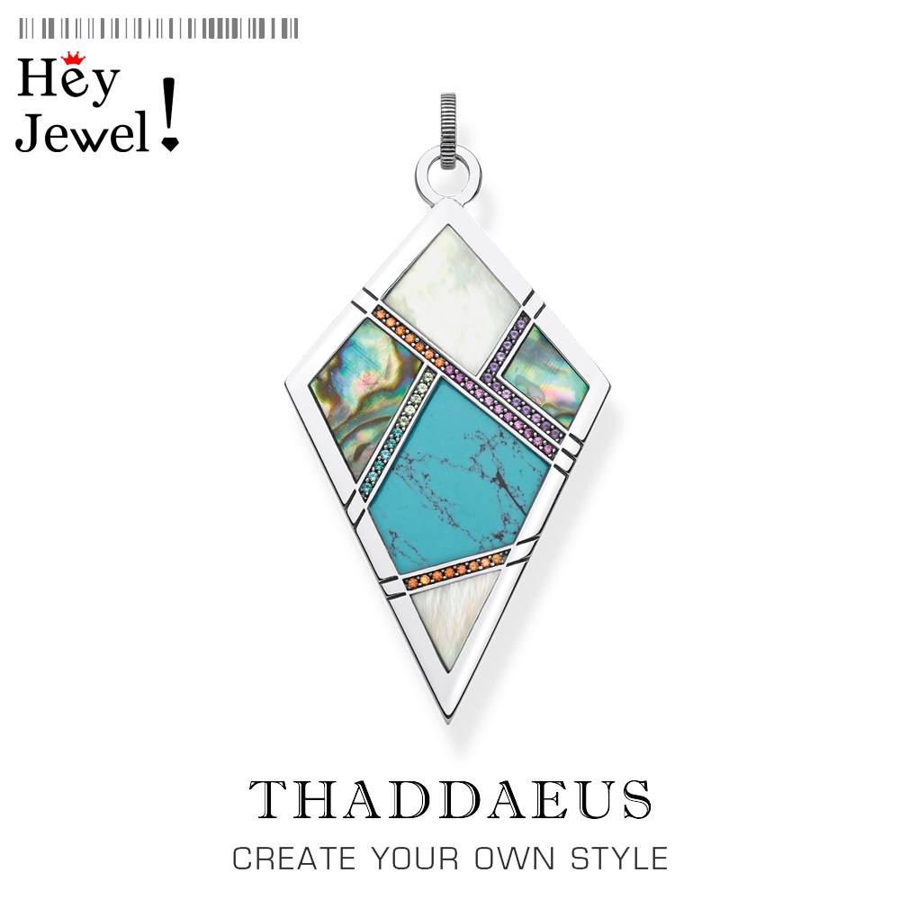 Meaningful Lucky Pendant,2020 Brand New Fashion Jewelry Thomas Graphic Design Bijoux Ethnic 925 Sterling Silver Gift For Woman