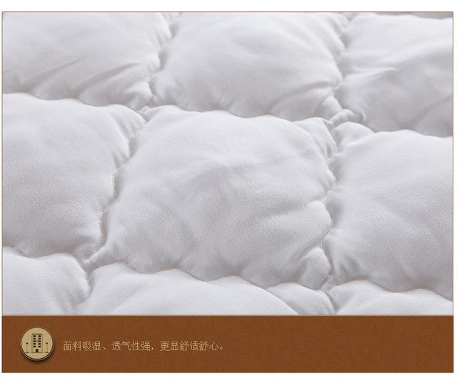 Wiosenny poliestrowy bawełniany oddychający arkusz na materace i cztero-narożny materac ścięgna z zagłówkiem o długości 200cm tanie i dobre opinie Pikowana Szycie Poliester cotton Wiosna jesień Polyester cotton First Grade Bed pad 100*200 120*200 150*200 180*200 200*200