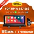 Автомобильный мультимедийный блок Apple CarPlay, 10,25 дюйма, Android, для BMW Серия 1, E87, E88, E81, E82, CIC