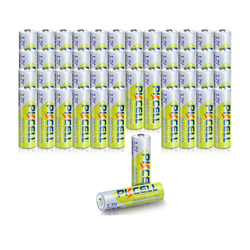 48Pcs PKCELL AA 1.2V  Rechargeable Batteries Ni-MH AA 2600mAh Bateria Baterias For Toy Digital Camera