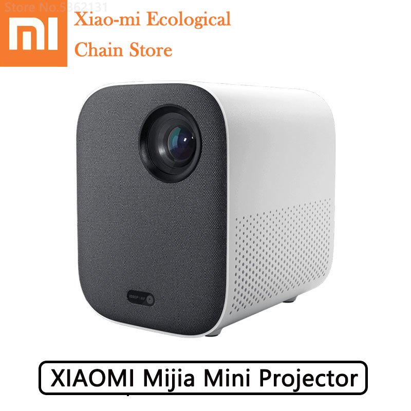 Xiaomi Mijia Projector Bluetooth Mini Projector 1920*1080 Full HD Support 4K Video WIFI <font><b>Proyector</b></font> LED Beamer <font><b>TV</b></font> For Home Cinema image