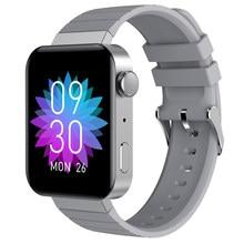 Умные часы M1 для мужчин и женщин, водонепроницаемые Смарт-часы с Bluetooth, функцией звонков, термометром, IP68, пульсометром и монитором сна 2021