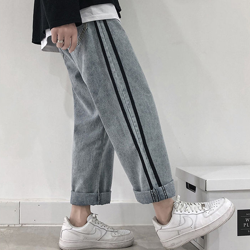 High Waist Boyfriend Jeans Women Straight Loose Casual Denim Pants New 2020 Korean Style Harajuku Jean Trousers Woman P369