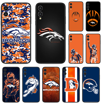 Rugby Denver Bronco Football Phone case For Huawei Honor 10 10i 20 6A 7A 7C 8 8A 8X 9 9X Play View 20 Lite Pro black coque soft image