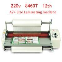 8460T A2 + Papier Laminieren Maschine Vier Roller Kalten Heißen laminator Roll Maschine film Laminator foto Laminieren Maschine-in Laminator aus Computer und Büro bei