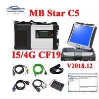 New V2020.3 MB C5 SD ConnectCompact 5 MB star C5 & Diagnosis laptop CF19 cf 19 I5 4GB better C4 for B enz Cars Trucks diagnostic