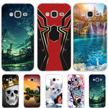 For Samsung Galaxy J3 2015 Case Silicon Cover For Samsung Galaxy J3 2016 Case Dog Cat Funda For Samsung J3 2015 2016 Phone Cases смартфон samsung galaxy j3 2016 gold