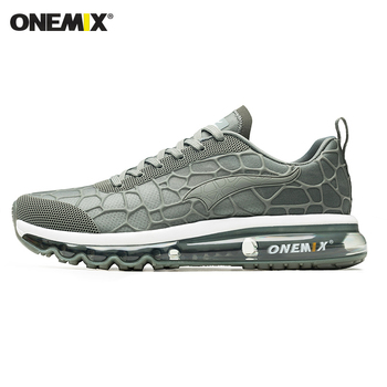 ONEMIX New Style Men Running Shoes Outdoor Leather Jogging Trekking Sneakers Summer Breathable Mesh Athletic Women Sport Shoes 12