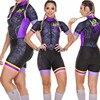 Roupa de ciclismo feminina manga curta, equipamento de equipe corporal sexy de tri skinsuit, roupas de ciclismo personalizadas, triathlon, 2020 15
