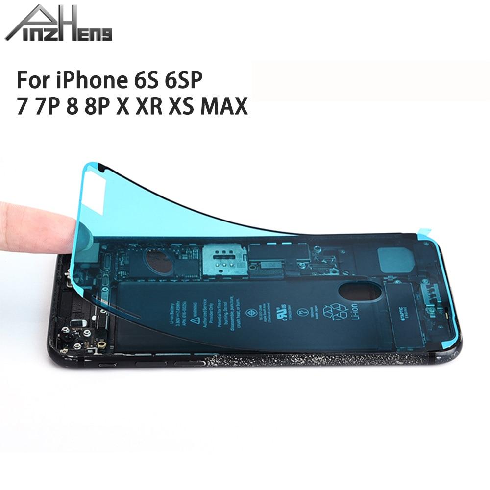 PINGZHENG 1Pcs Waterproof Sticker For iPhone 7 6s 8 Plus X XS MAX XR Sticker LCD Screen Tape Adhesive Glue Tape 3M Repair Set