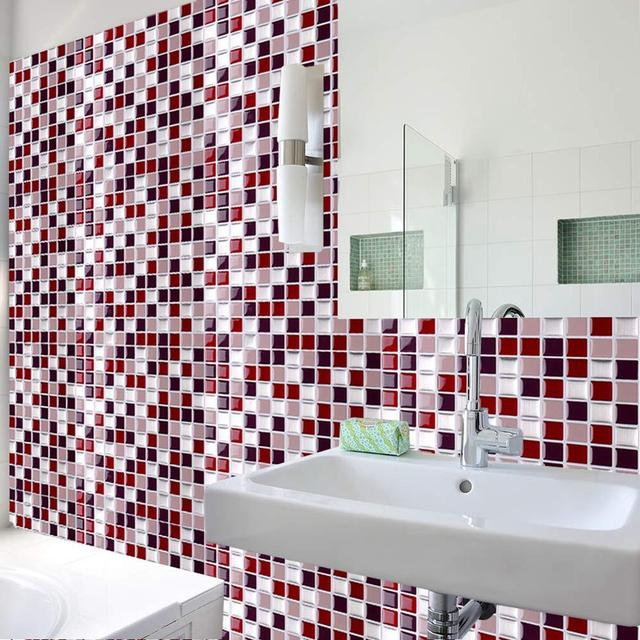Self Adhesive Mosaic Tile Wall Decal Sticker 8