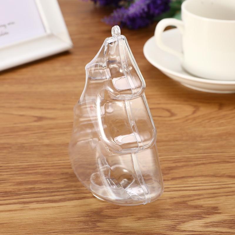 1/5PCS Transparent DIY Bath Bomb Molds Fizzy Sphere Christmas Xmas Tree Shape Plastic Bath Bomb Molds Mould Bath Accessories
