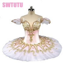Adult Pink Peach Fairy professional ballet tutu girls Pincess Florina Nutcracker classical dressBT9134D