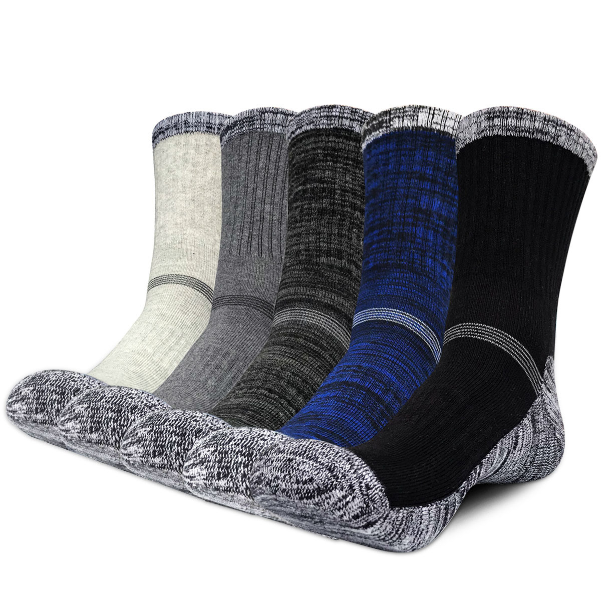 Winter Men Socks Thicken Thermal Wool Pile Cashmere Snow Socks Climbing Hiking Sport