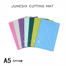 Junesix Cutting Mat A5 Board Manual Model Pad Paper Random Colors