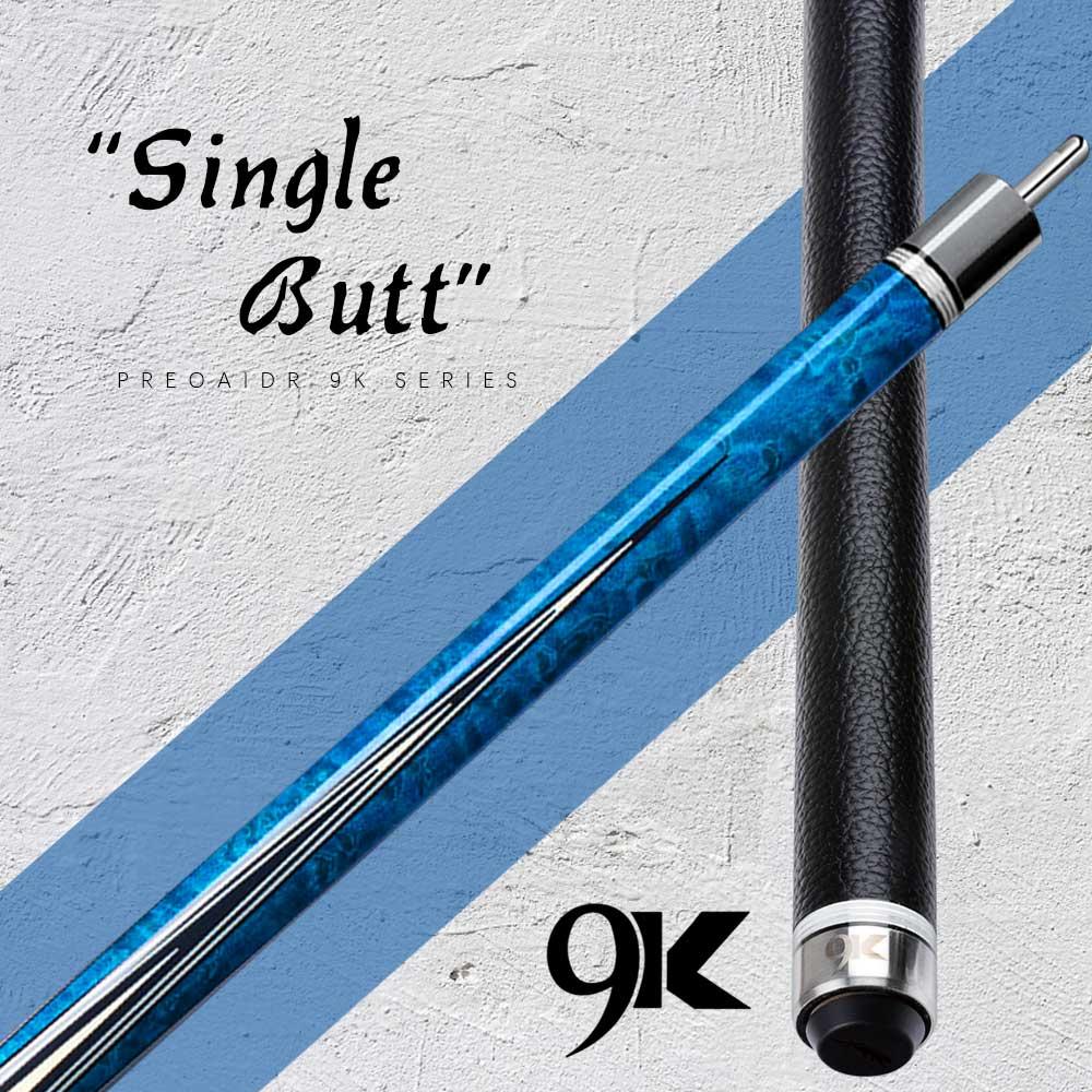 PREOAIDR 9k 3142 Z2 Single Butt Fit Uni-lock Joint Billiard Pool Cue Stick Cue Kit Billar Cue Kit Nine Ball Black 8 China