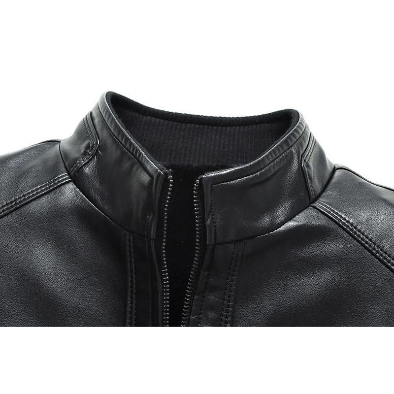 Plus size men genuine leather jacket 4XL 5XL 6XL 2020 spring and autumn zipper male sheepskin Plus size men genuine leather jacket 4XL 5XL 6XL 2020 spring and autumn zipper male sheepskin leather jacket father outwear P07