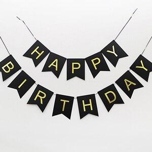Image 5 - Decoración de cumpleaños de individualidad, Set de adornos colgantes para fiesta de cumpleaños de 18, 30, 40, 60 y 70, decoración de fiesta de cumpleaños