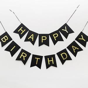 Image 5 - Individuality Birthday Decoration 50th Birthday 18 30 40 60 70 Adult Girl Birthday Party Decoration Hanging Ornaments Set