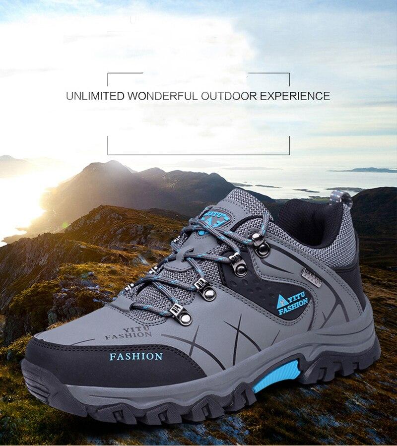 à prova dwaterproof água sapatos de escalada de montanha