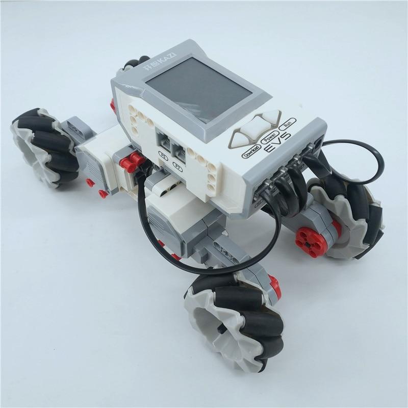 Image 5 - EV3 COMPATIBLE LOGOING 31313 45544 SCIENCE AND EDUCATION BUILDING BLOCK ROBOT CREATIVE PROGRAMMING INTELLIGENT APP PROGRAM TOYSBlocks   -