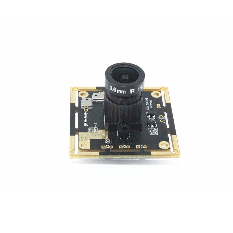 HBVCAM Modulo Telecamera USB Usb2.0 Interfaccia 8MP Modulo Della Macchina Fotografica Digitale con 3.6 MILLIMETRI lente