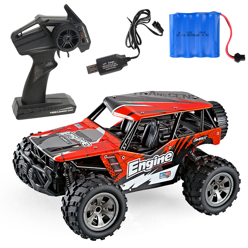 1:18 RC Car Off-Road Cars Truck Vehicle Model Remote Control High Speed Buggy For Boy Kids Gift 5 Color