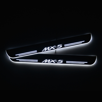 LED Door Sills Scuff Plate for Mazda MX-5 MX5 NB NC ND 1998 - 2020 Acylic Threshold Welcome Pedal Car Accessories image