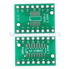 5 Pcs SOP16 SSOP16 TSSOP16 untuk DIP16 0.65/1.27 Mm IC Adaptor DIY Kit Elektronik PCB Papan Modul(China)