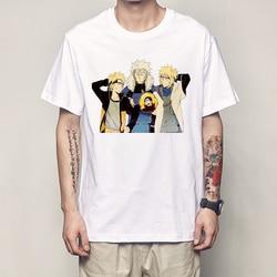 Naruto T koszula moda lato mężczyzna T koszula Naruto koszula klasyczna postać z anime obraz mężczyźni topy koszulki Harajuku Streetwear T Shirt 1