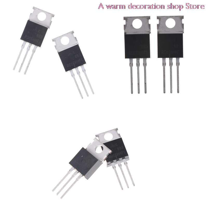 2pcs 30MHz 16W Rd16hhf1 To-220 Power Transistor Mosfet Original Whosesale
