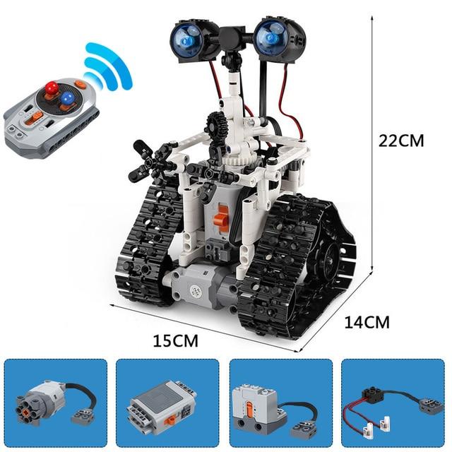 MMloveBB New MOC RC Robot WALL ings Technic Building Block Bricks DIY Toy Gift Kids Birthday Bricks Toys For Boys