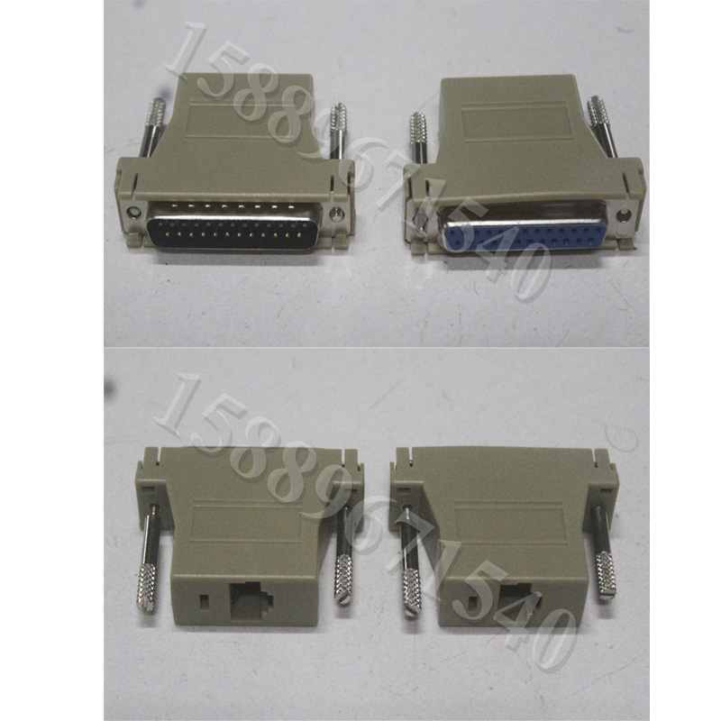 Free Shipping Pangolin Quickshow And Ishow Laser Software Connection Cable Adapter RJ45 To DB25 Converter ILDA Cable