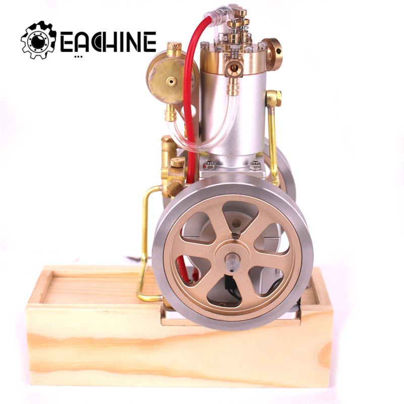 Eachine ETX Hit Miss Gas Vertical Engine Stirling Engine Model Upgraded Water Cooling Cycle RC Helicopters Engine Collection