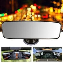 Панорамное зеркало заднего вида Универсальное широкоугольное зеркало заднего вида с присоской установка автомобиля внутренние зеркала заднего вида