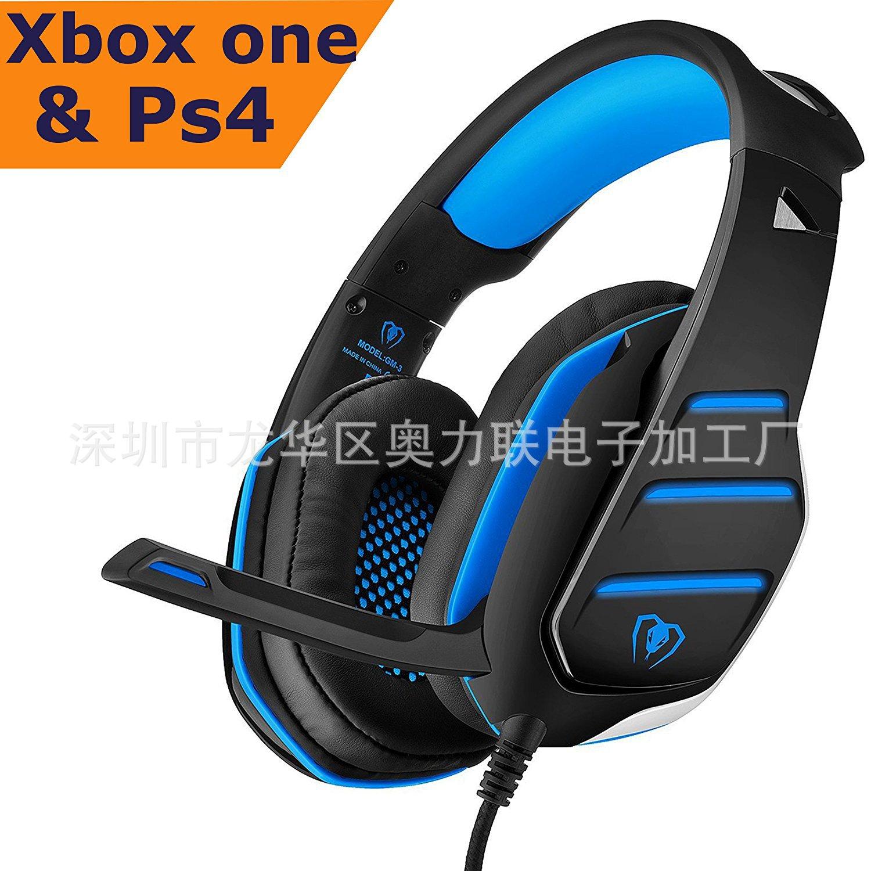 Headphones beexcellent GM-3 Game Headphones PS4 Xbox ONE Game Console Earphones