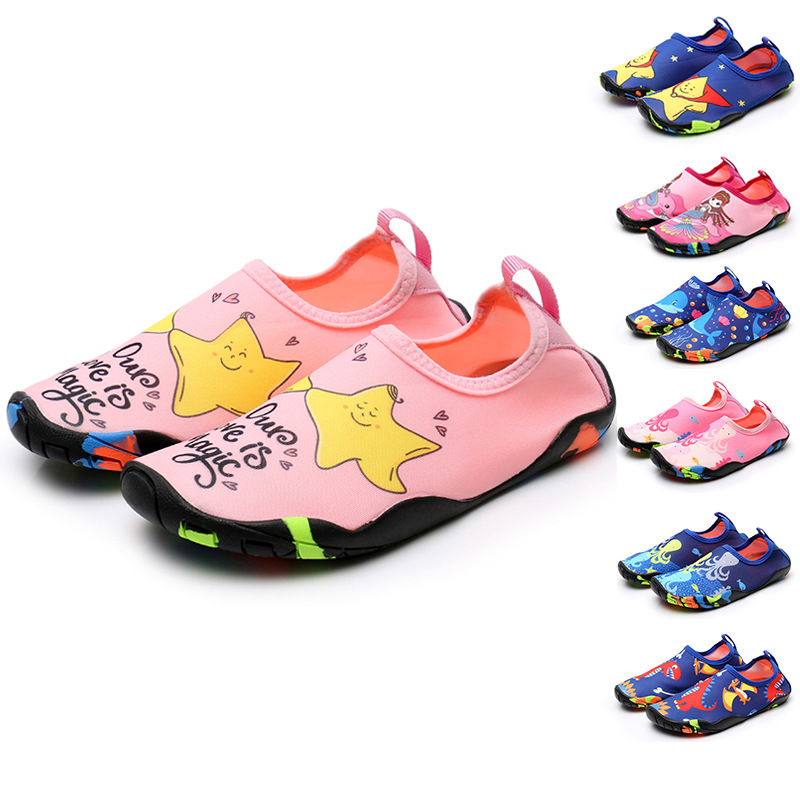 Water Shoes Children Quick-Drying Water Shoes Pool Beach Yoga Sneakers Swimming Shoes For Pool Beach Surf Walking Water Park