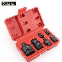 CR-MO Socket Convertor Adaptor Reducer 1/2 to 3/8 3/8 to 1/4 3/4 to 1/2 Impact Socket Adaptor for Car Bicycle Garage Repair Tool