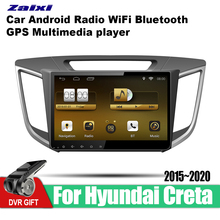 ZaiXi Android Car GPS Multimedia Player For Hyundai Creta 2015~2020 car Navigation radio Video Audio WiFi Bluetooth