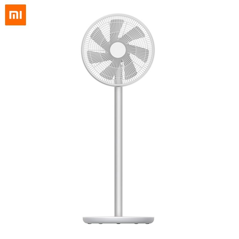Xiao mi mi Smart mi ventilateur 2S piédestal de vent naturel avec mi JIA APP contrôle DC fréquence ventilateur 20W 2800mAh100 contrôle de vitesse en continu