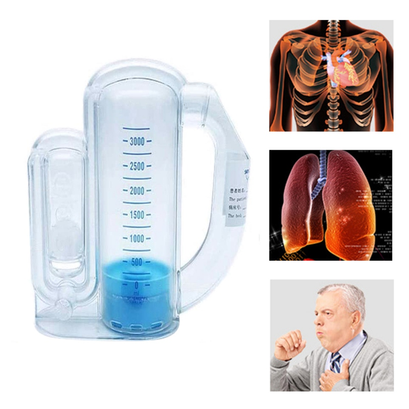 Vital Capacity Respiratory Exerciser/Breathing Trainer for Lung Function 3