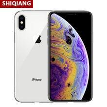 Original desbloqueado iphone XS/XS Max Smartphone trasero 12MP NFC Apple 12 Bionic Bluetooth5.0 teléfonos móviles versión Global 3 +/64/256GB