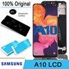 100% Оригинальный 6,2 ''ЖК-дисплей + сенсорный экран дигитайзер для Samsung Galaxy A10 A105 A105F SM-A105F Pantalla запасные части