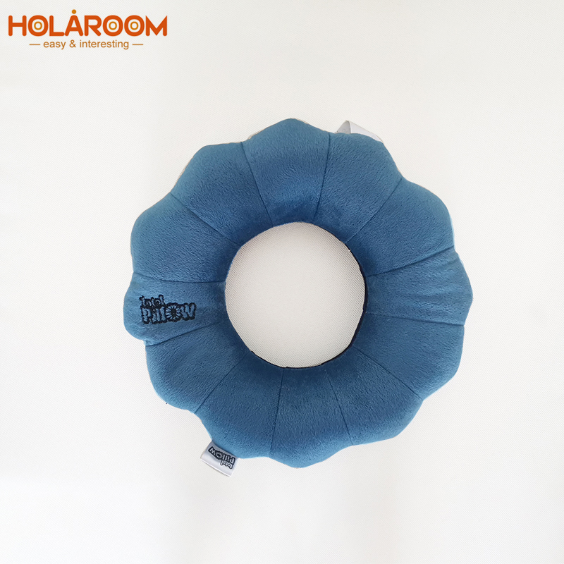 1Pcs Quality Pillow New Cervical Massage Plum Neck Pillow Outdoor Sports Car Decration Travel Twist Flower Shape Pillow