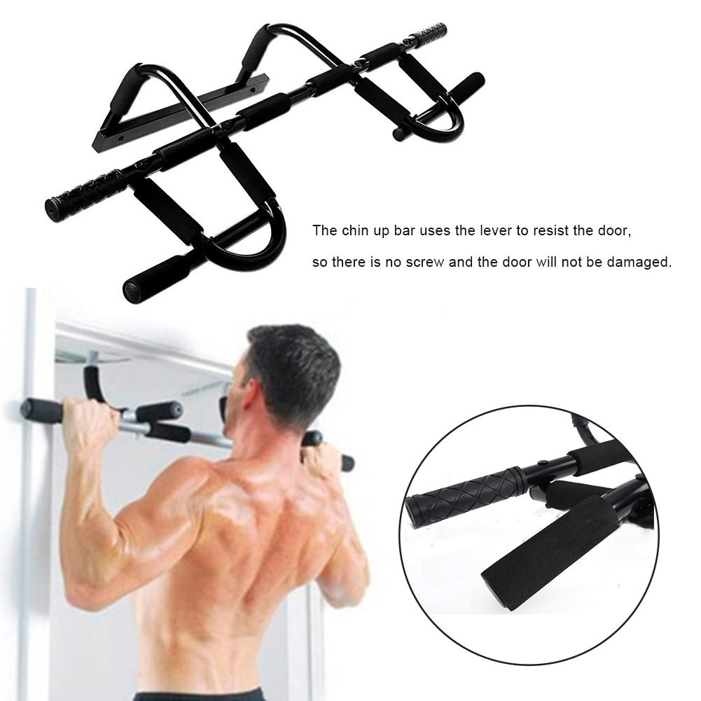 Chin Up Bars Portable Detachable Pull Up Door Bar Portable Chin-up Upper Body Trainer Fitness Bar For Upper Body Workout