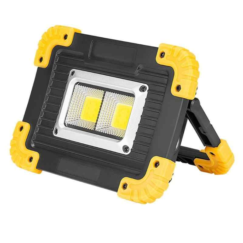 100W Rechargeable LED COB Work Light Camping Outdoor Floodlight Outdoor Lamp UK