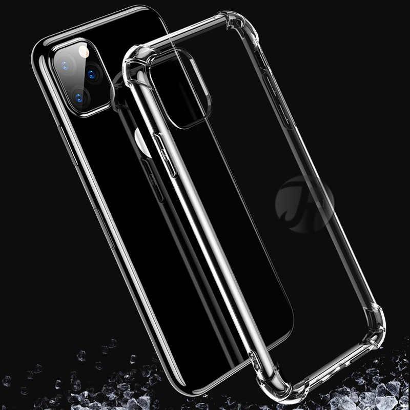 얇은 투명 투명한 전화 케이스 아이폰 2019 11 프로 맥스 Xs 맥스 케이스 6 s xr 케이스 아이폰 X XS 맥스 XR 6 7 6S 8 플러스 5 se