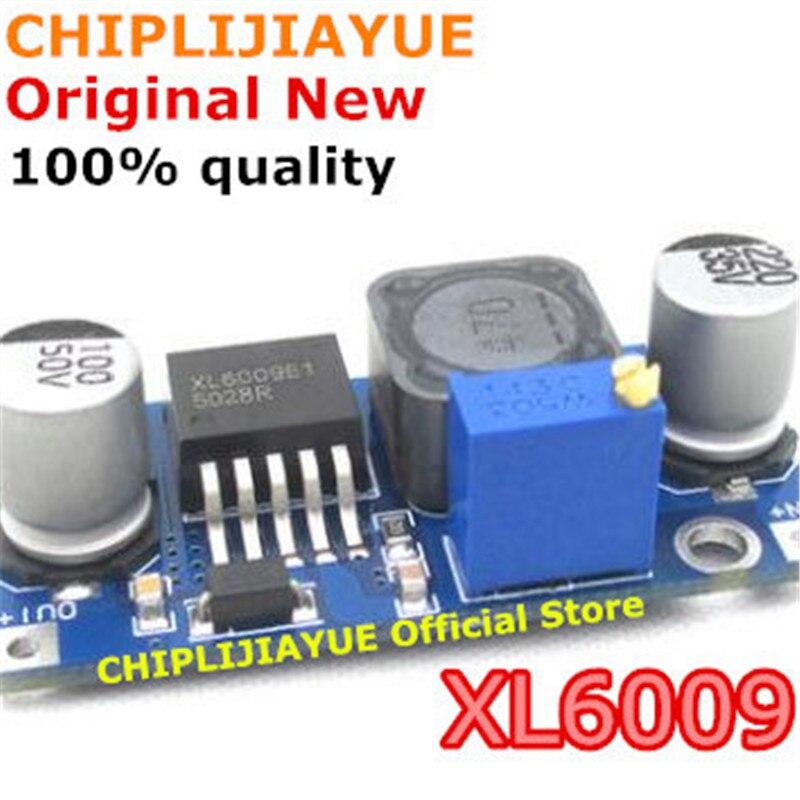 2 pces xl6009 DC-DC módulo de alimentação módulo de reforço saída é ajustável super lm2577 step-up módulo novo e original ic chipset