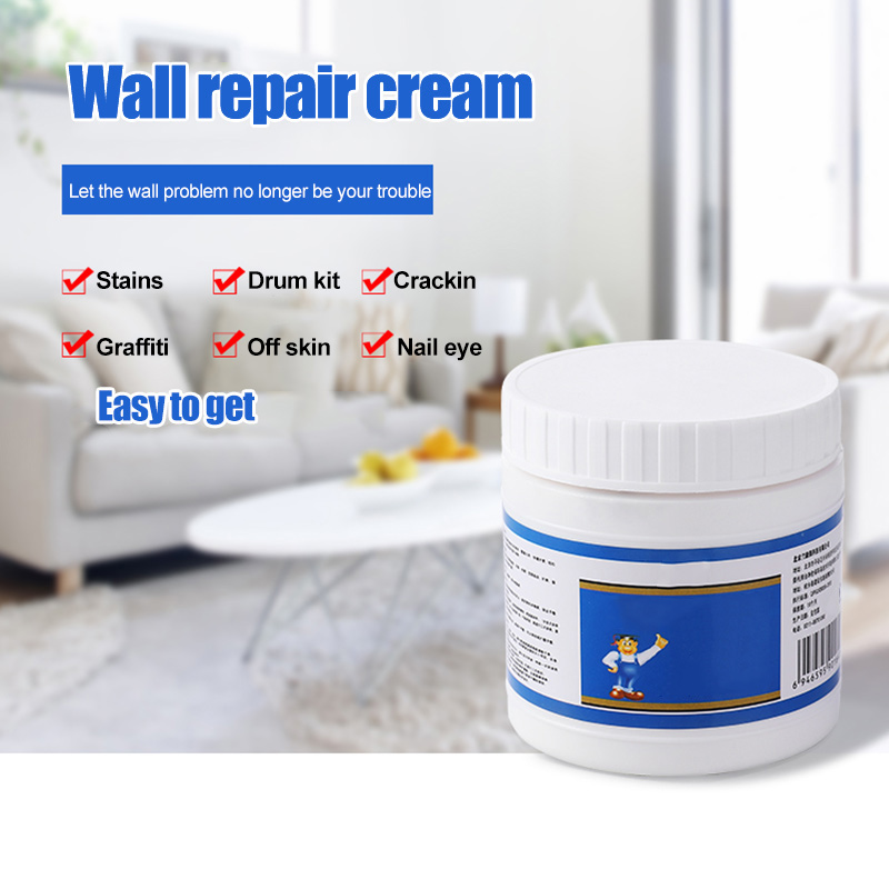 Clever Wall Repair Cream Good Coverage Hard Film Smoothing Easy To Use In Stock